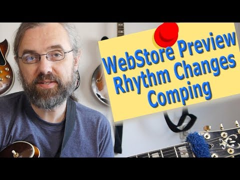 Rhythm Changes - Jazz Comping - WebStore Preivew
