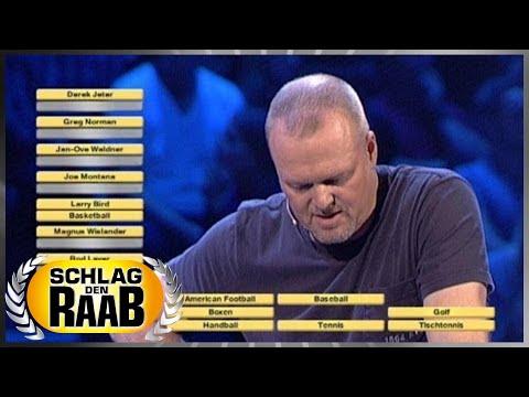 Spiel 5: Zuordnen - Schlag den Raab