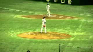 2011.3.2 プロ野球オープン戦 読売ジャイアンツvs埼玉西武ライオンズ 菊...