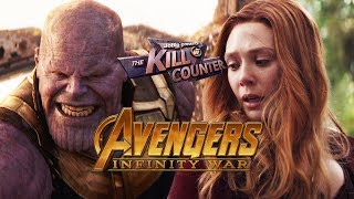 Video AVENGERS: INFINITY WAR - The Kill Counter (2018) Marvel Superhero Film download MP3, 3GP, MP4, WEBM, AVI, FLV November 2018