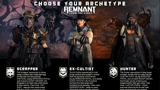 Remnant From the Ashes   Starting Classes Character Creation Customization and Archetypes Builds