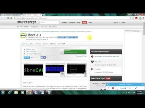 How To Download LibreCAD Software