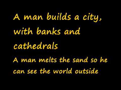 U2-Lemon (Lyrics)