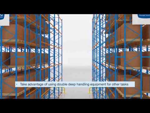Double Deep Pallet Racking | SILVER LINING