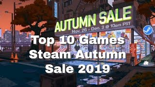 Top 10 Games of the Steam Autumn Sale 2019