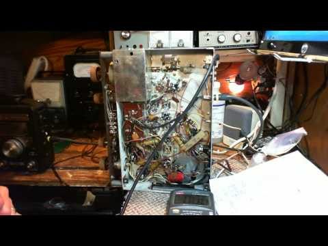 Stromberg Carlson FR503/504 video #1 - Troubleshooting Start