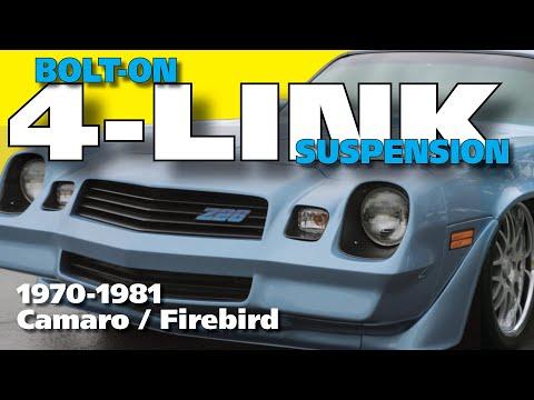 4-Link Rear Suspension Installation For 1970-1981 Camaro/Firebird
