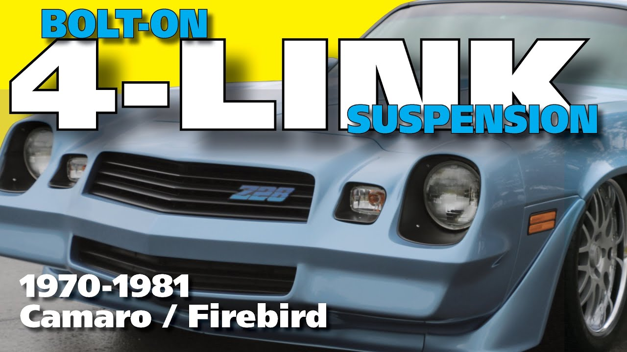 4 Link Rear Suspension Installation For 1970 1981 Camaro Firebird Wiring Diagram 1979 Formula