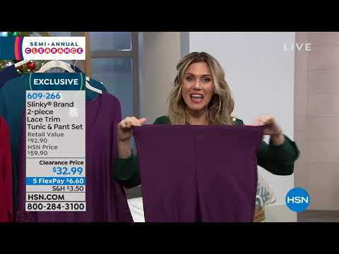 HSN | Slinky Brand Fashion Clearance . http://bit.ly/2XriJuf