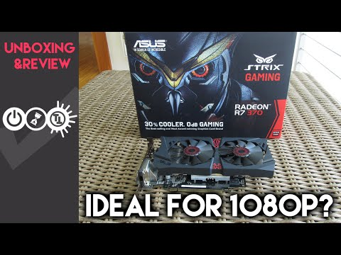 Asus R7 370 Strix Review & Unboxing