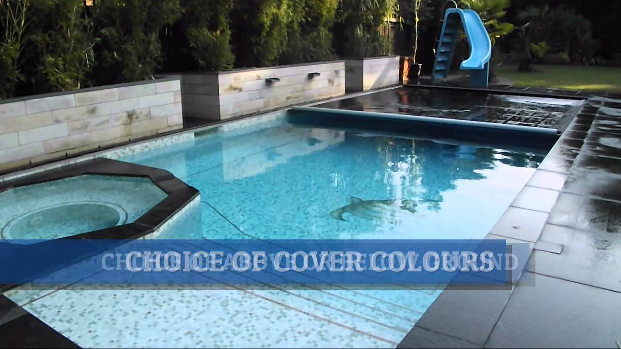 Automatic Swimming Pool Safety Covers Safe Pool Covers Uk Youtube