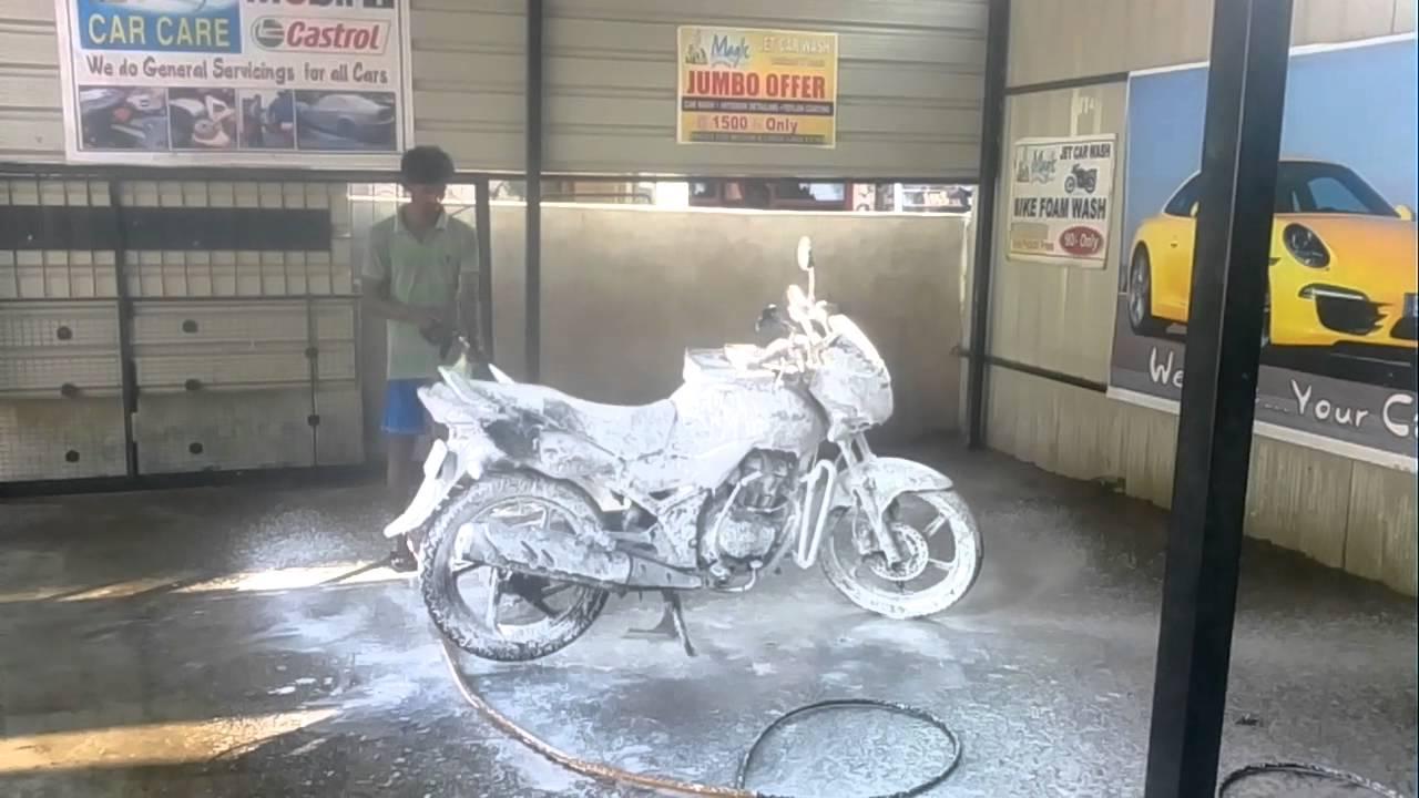 Car Foam Wash In Hyderabad