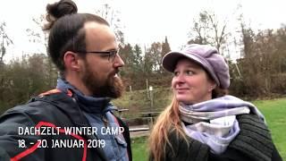 DACHZELT WINTER CAMP 2019 | Location Vorstellung | Naturcamping Vulkaneifel