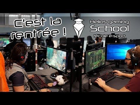 ECOLE ESPORTS Helios Gaming School - C'est la rentrée : Facebook Live