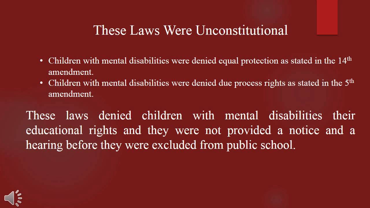 special education case law studies Fundamentals of special education law - chapter summary this special education chapter covers the basics of special education law our expert instructors walk you though the history of disability discrimination in american public schools and discuss important legal cases that led to significant improvements for disabled students' rights.