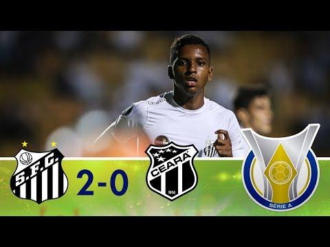 Melhores momentos - Santos 2 x 0 Ceará - Campeonato Brasileiro (14/04/2018)