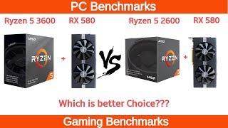 Ryzen 5 2600X vs i5 9600K RTX 2070 Benchmark