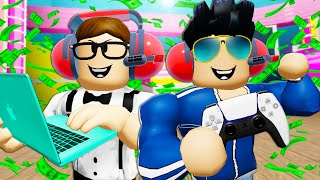 The Cheating Gamers! A Roblox Movie (Brookhaven RP)