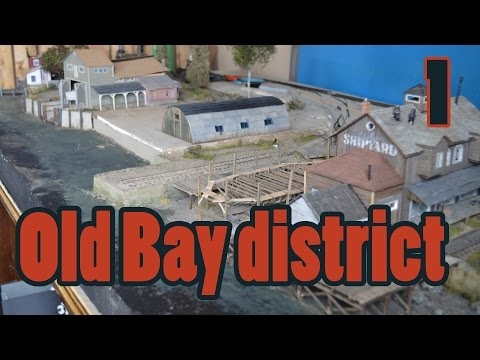 Howto combine dioramas | Old Bay District | Finescale Waterf