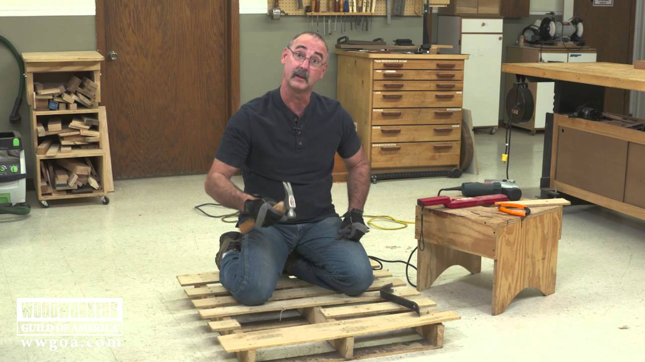 Working With Pallet Wood Youtube