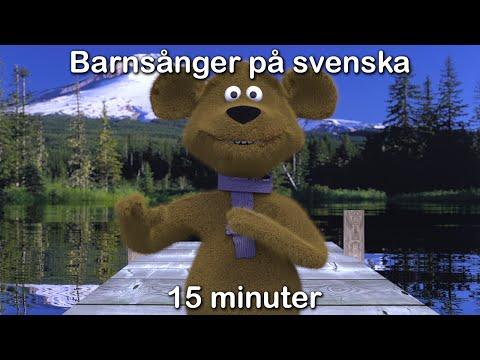 Imse vimse spindel | Barnsånger på svenska | 15 minuter | Busigt Lärande