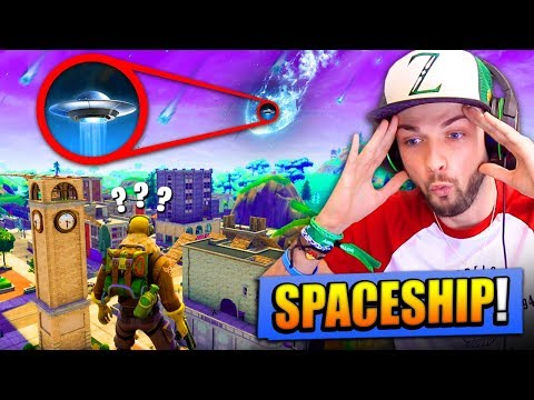 SECRET *SPACESHIP* REVEALED in Fortnite: Battle Royale!