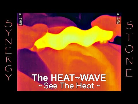 Heat-Wave Back Synergy Hot Stone Massage via Thermal Vision 10-19