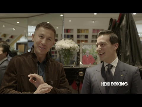 Shopping Trip with Gennady Golovkin (HBO Boxing)