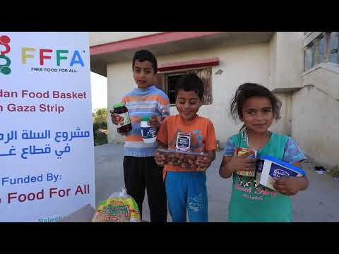 Ramadan Food Baskets in Gaza Strip