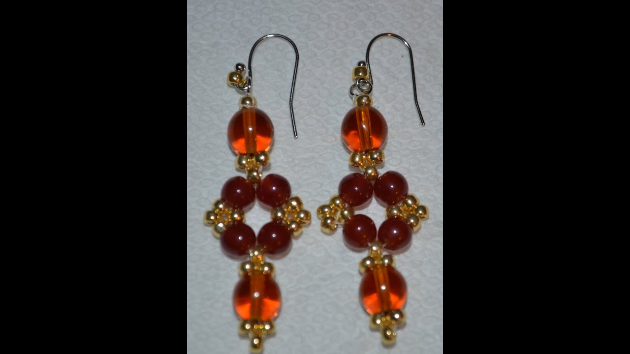 and earrings beads watch tutorial youtube pendant beaded magical magatamas
