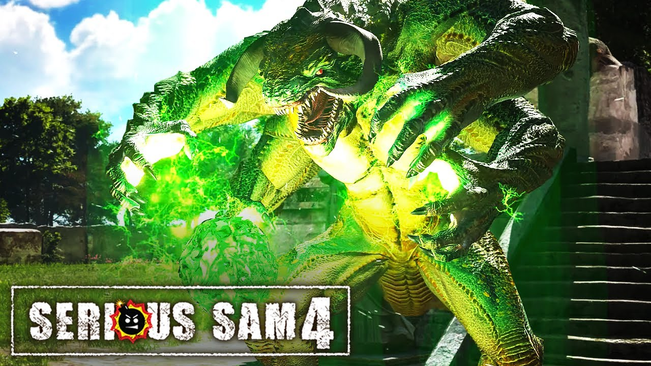 Serious Sam 4 - Official 4K Launch Trailer
