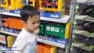 Bé Đi Siêu Thị Vinmart Royal City| Family Funny At Supermarket| Nursery Rhymes 4 Kids | HT BabyTV ✔︎