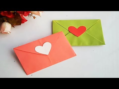 How to make a paper Envelope//Envelope Making With Paper at Home