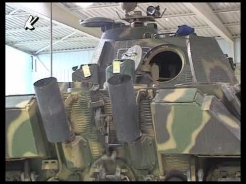 Original Kampfpanzer Panther Tank  Innenraumaufnahme Interior View