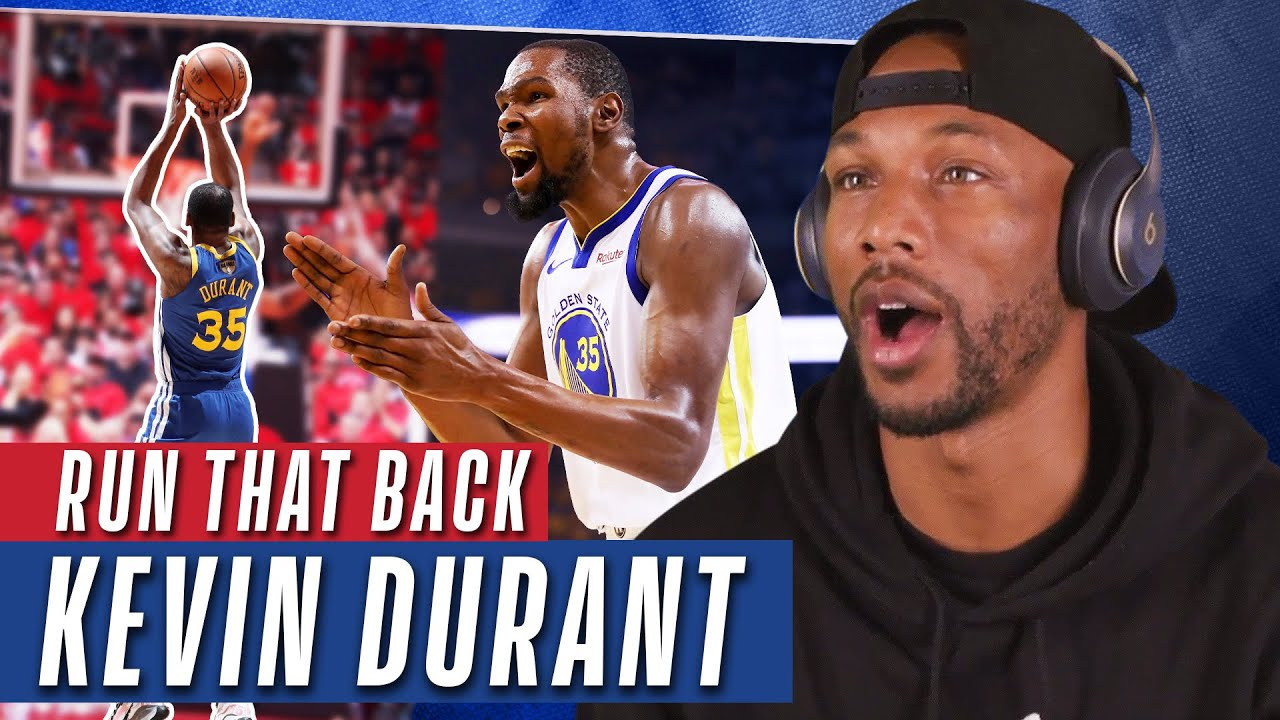 Kevin Durant Top 10 Career Highlights | YouTubers React!
