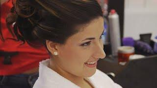 Brazilian Bride's Wedding Prep at Tony & Claudio Beauty Salon, Bridgeport, CT
