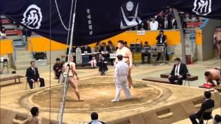 第32回全日本大学選抜相撲宇和島大会南予出身選手