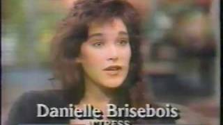 Danielle Brisebois interview GMA 1987