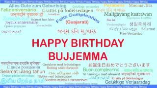 Bujjemma   Languages Idiomas - Happy Birthday