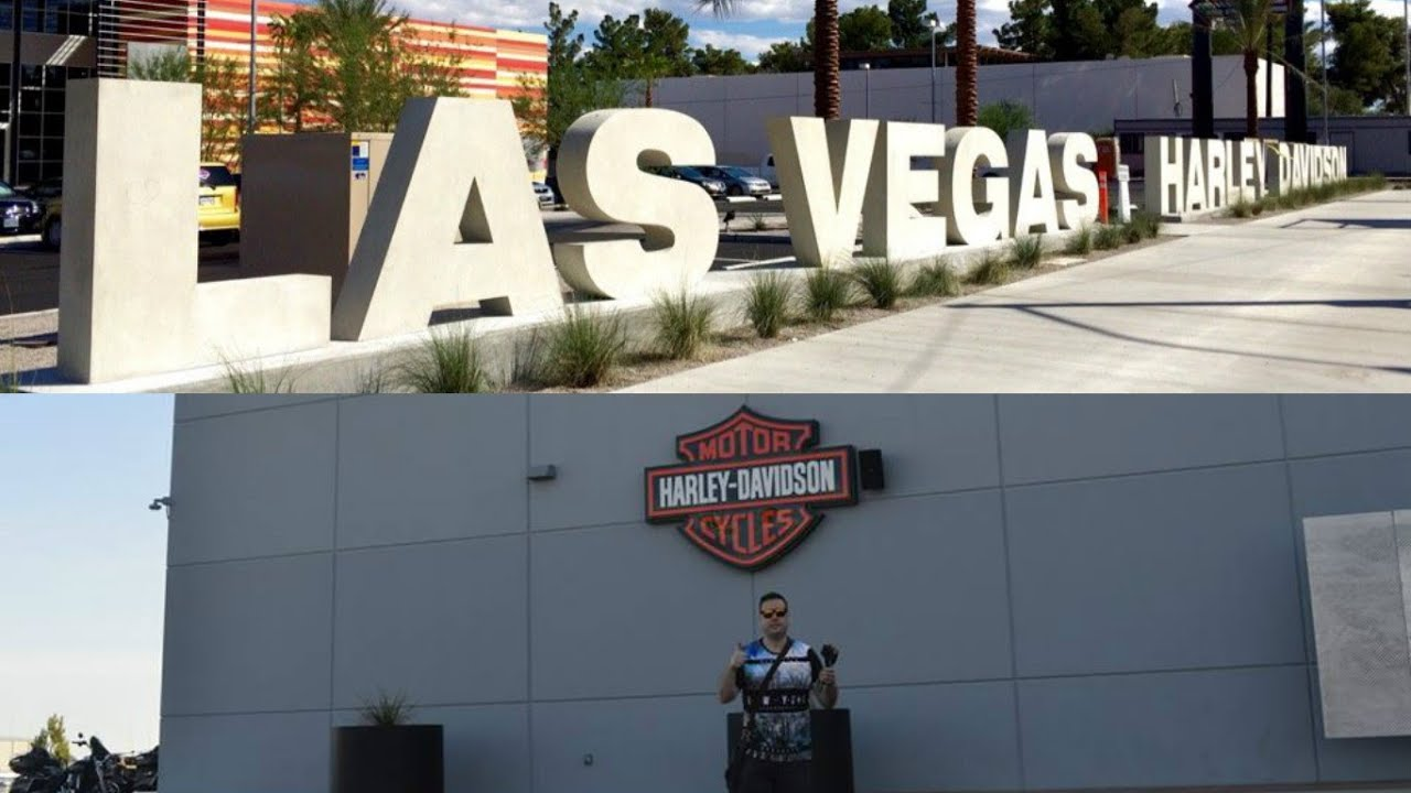harley davidson dealership shop las vegas - youtube