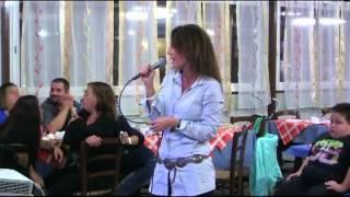 karaoke - Barbara V. canta CI PENSERO DOMANI - karaboomba