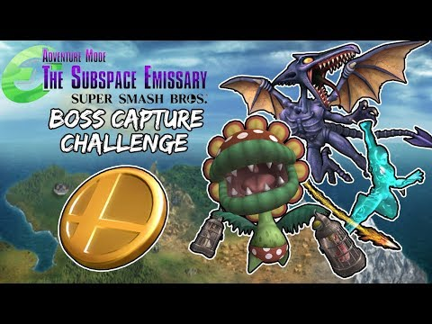Super Smash Bros Brawl: Boss Capture Challenge