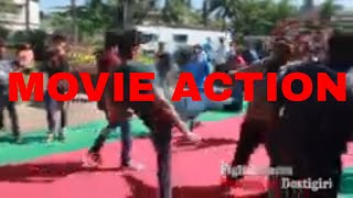 Bollywood Action Scene Making | Behind the Scenes | Bollywood Movie