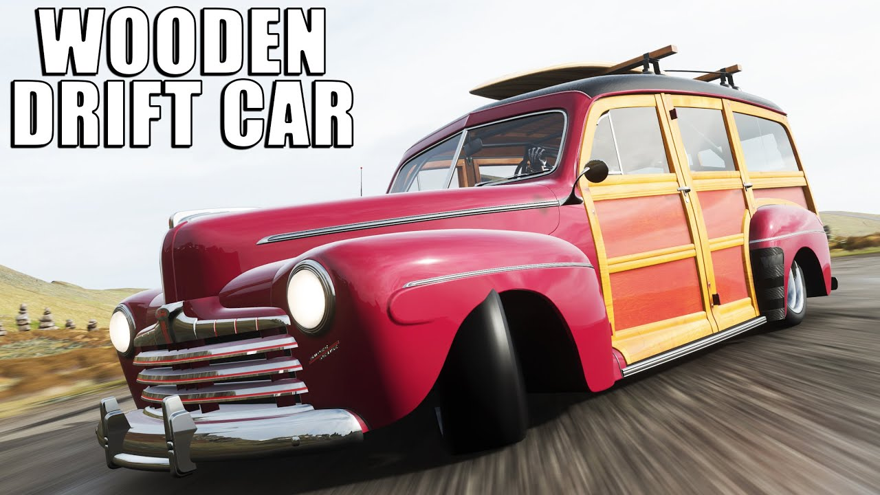 YOU REALLY SENT ME A WOODEN CAR TO DRIFT ON FORZA HORIZON 4