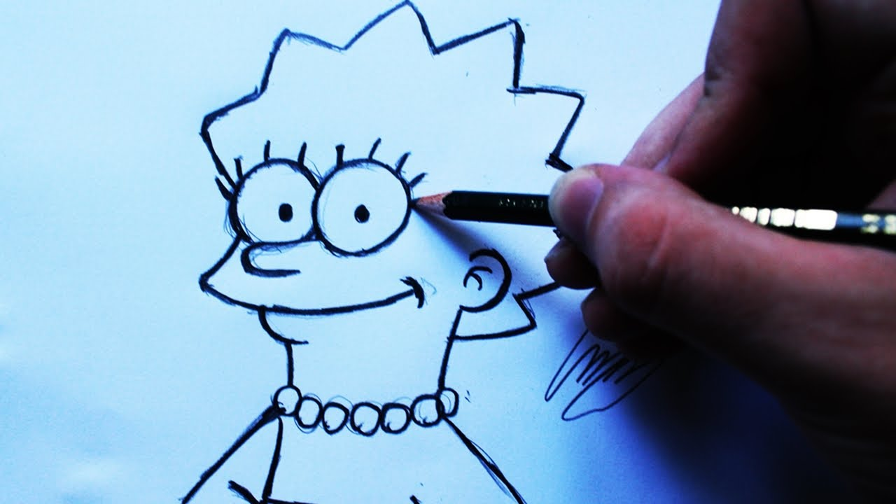 Como Desenhar A Lisa Simpson The Simpsons How To Draw Lisa