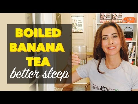 Boiled Banana Tea with Cinnamon | A Boiled Banana Recipe for Better Sleep at Night