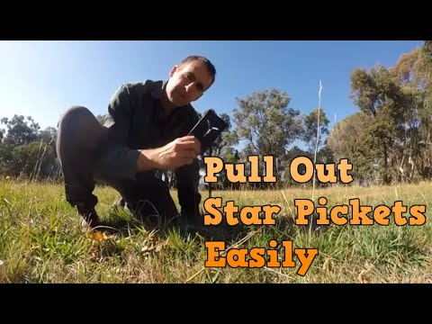 Easy Star Picket Driver And Puller
