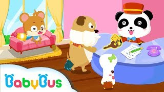 Panda Hotel | Game Preview | Educational Games for kids | BabyBus