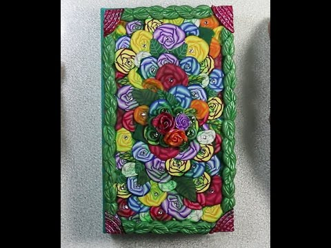 Rose Explosion Journal Cover Part 3 Journal Cover