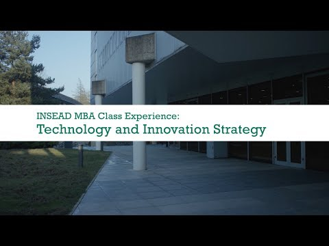 Technology and Innovation Strategy with Prof. Nathan Furr | INSEAD MBA Class Experience